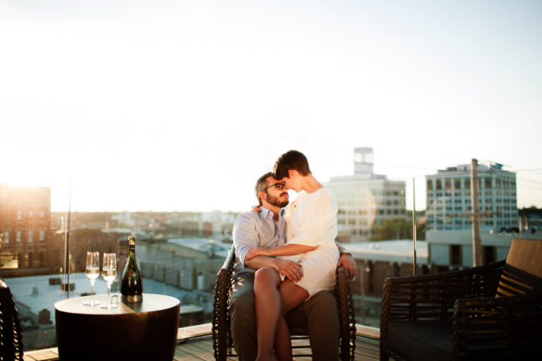 Joey & Whitney, Hotel Vandivort Elopement, Elise Abigail Photo